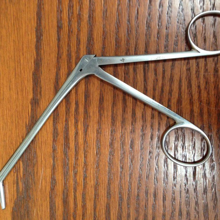 Used Biopsy Instrument
