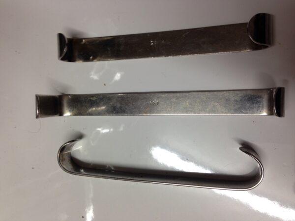 Used Set of 3 Retractors