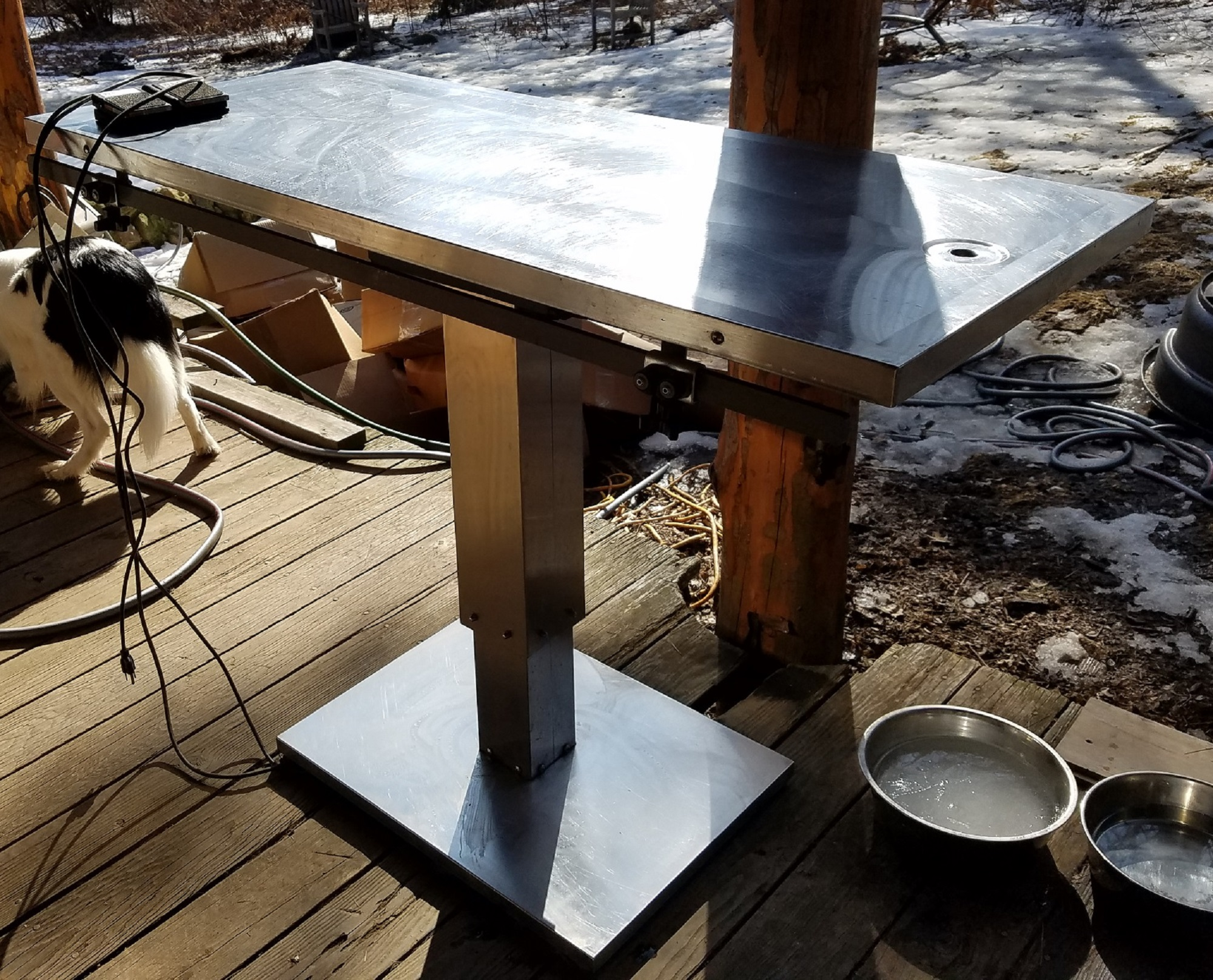 Vssi Flat Top Surgery Table Veen America Veterinary